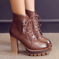 High Heels Ankle Boots-Vinny's Digital Emporium