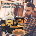 Men's Beard Grooming & Styling With 6 Piece Tool Kit-beard grooming kit-Vinny's Digital Emporium