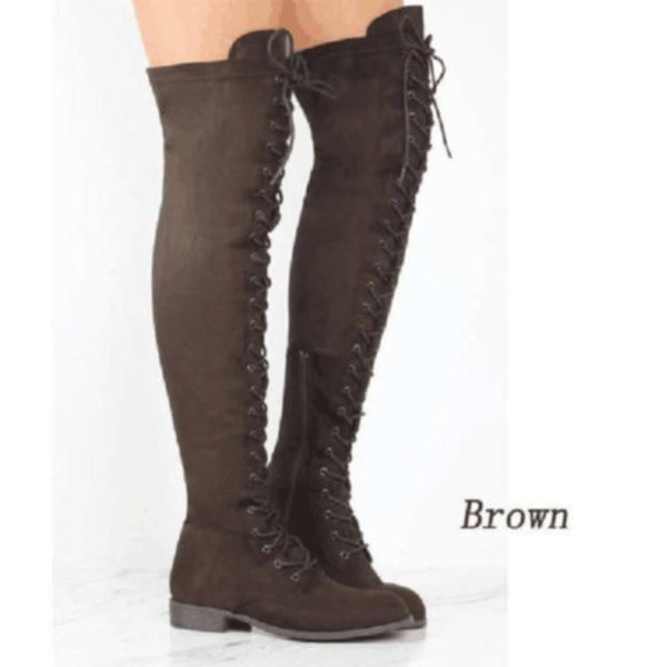 Over The Knee Boots For Women-above knee boots-Vinny's Digital Emporium