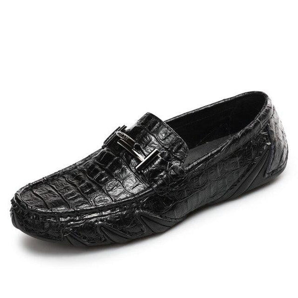 Genuine Leather Dress Shoes | Men's Italian Loafers-mens loafers-Vinny's Digital Emporium