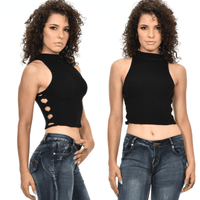 Sweet Look Women's Top | Sleeveless blouse-tank tops-Vinny's Digital Emporium