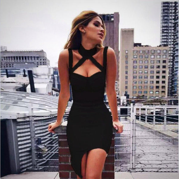 Sleeveless Bodycon Short Mini Dresses Party Dress Women's Short Mini Dress-dress-Vinny's Digital Emporium