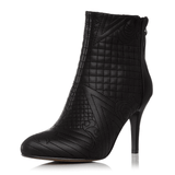 Genuine Leather Ankle Boots | High Heel Ankle Boots-ankle boots-Vinny's Digital Emporium