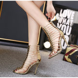 Women's Pump High Heel Dress Open Toe Sandals Party Shoes Summer Fashion-shoes-Vinny's Digital Emporium