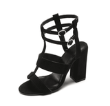 Ankle Strap Sandals For Women | Open Toe High Heel Shoes-shoes-Vinny's Digital Emporium