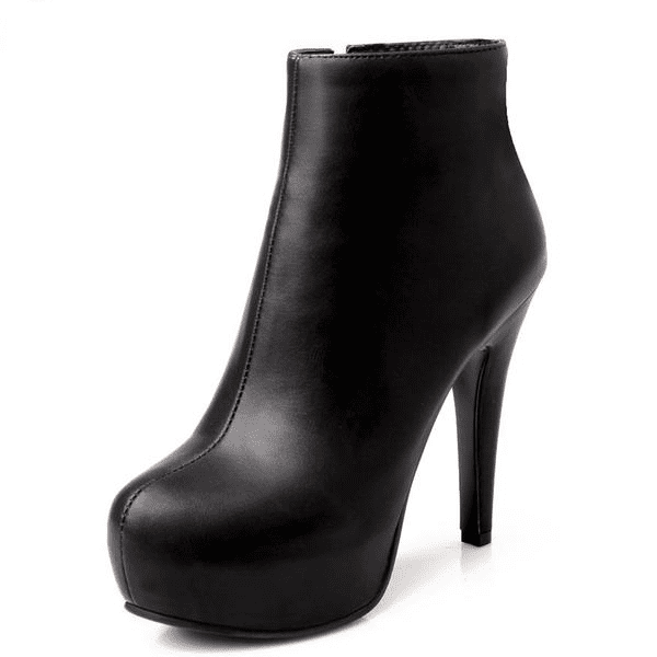 High Heel Ankle Boots | Platform Heel Ankle Boots