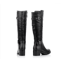 Women's Riding Boots | Genuine Leather Equestrian Boots-knee high boots-Vinny's Digital Emporium
