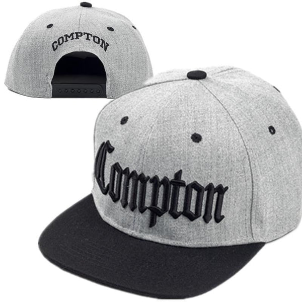 Compton embroidery Baseball Hats Fashion Adjustable Men Caps Hat Snapback-baseball cap-Vinny's Digital Emporium