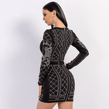 Sexy Mini Dress | Above Knee Mini Dress-mini dress-Vinny's Digital Emporium