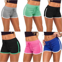 Women's Skinny Yoga Sports Shorts Running Gym Workout Elastic Summer Pants-shorts-Vinny's Digital Emporium