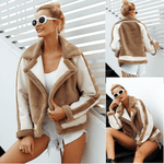 Womens Faux Fur Coat-Vinny's Digital Emporium