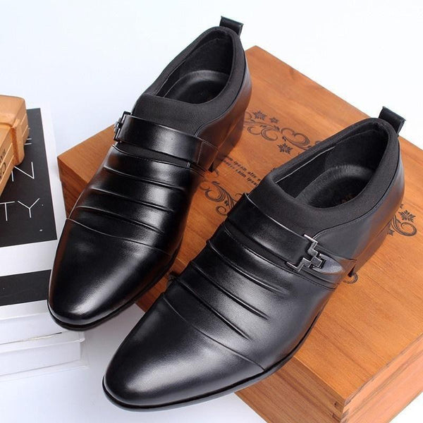Men's Dress Shoes New British Fashion | Pointed Toe Dress Shoes For Men-shoes-Vinny's Digital Emporium