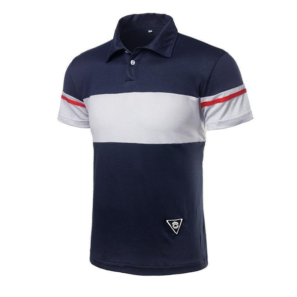 Mens Polo Shirt Neck T-Shirt Classic Standard Fit Short Sleeve Crew-Vinny's Digital Emporium