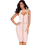 Bodycon Mini Dress | Bandage Party Dress-mini dress-Vinny's Digital Emporium