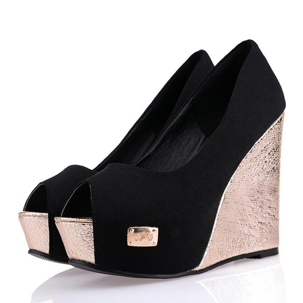 Wedge Heel Platform Shoes | High Heel Platform Shoes