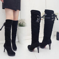 High Heel Above Knee Boots-knee high boots-Vinny's Digital Emporium