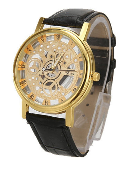 Fashion Skeleton Women's Analog Watch-watch-Vinny's Digital Emporium