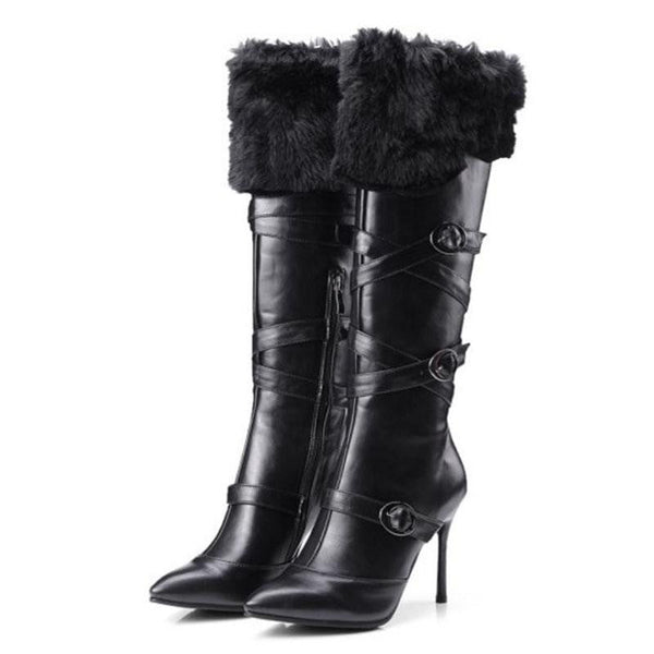 Women's Knee High Boots | High Heel Boots-knee high boots-Vinny's Digital Emporium