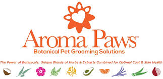 Image result for AROMA PAWS LOGO