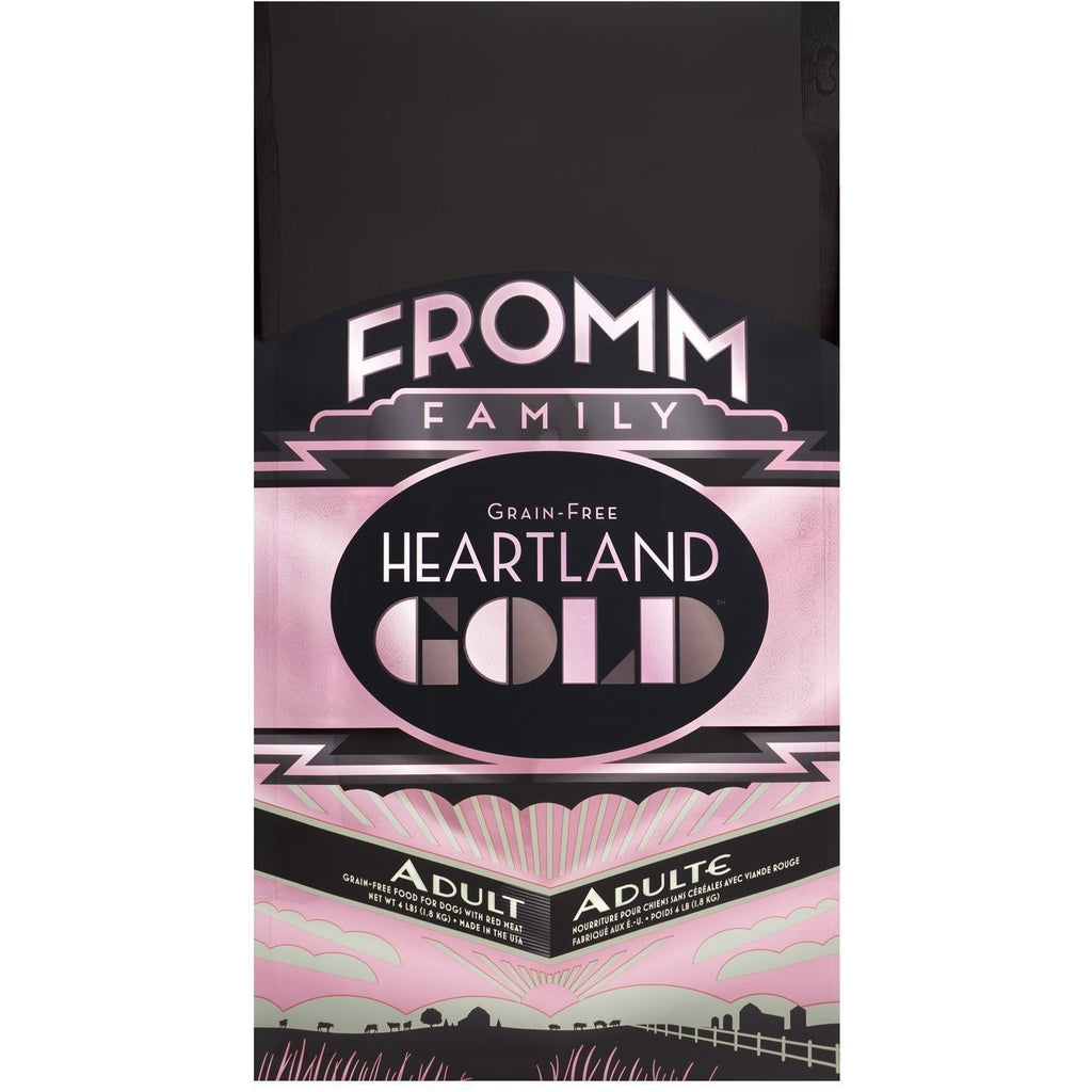 FROMM GOLD HEARTLAND GRAIN FREE ADULT DRY DOG FOOD