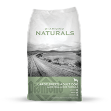 Diamond Naturals LARGE BREED ADULT DOG LAMB MEAL & RICE FORMULA 40 LB Bag
