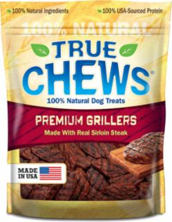 TRUE CHEWS PREMIUM GRILLERS MADE WITH REAL STEAK 12oz