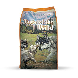 TASTE OF THE WILD HIGH PRAIRIE PUPPY FORMULA WITH ROASTED BISON & VENISON DRY DOG FOOD