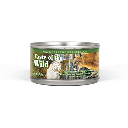 TASTE OF THE WILD ROCKY MOUNTAIN FELINE FORMULA CANNED CAT FOOD