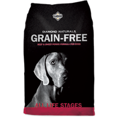 Diamond Naturals Grain-Free BEEF & SWEET POTATO FORMULA FOR DOGS