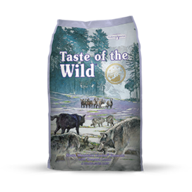 TASTE OF THE WILD SIERRA MOUNTAIN CANINE FORMULA WITH ROASTED LAMB DRY DOG FOOD