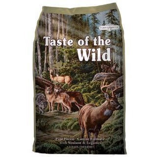 TASTE OF THE WILD PINE FOREST VENISON DRY DOG FOOD