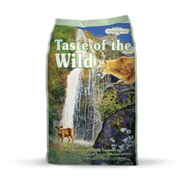 TASTE OF THE WILD ROCKY MOUNTAIN FELINE FORMULA WITH ROASTED VENISON & SMOKED SALMON DRY CAT FOOD