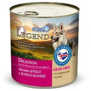 FORZA 10 LEGEND LAMB & CHICKEN DIGESTIVE CARE CAN DOG FOOD 11 OZ
