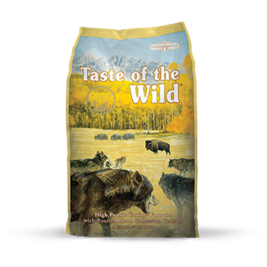 TASTE OF THE WILD HIGH PRAIRIE CANINE FORMULA WITH ROASTED BISON & VENISON DRY DOG FOOD