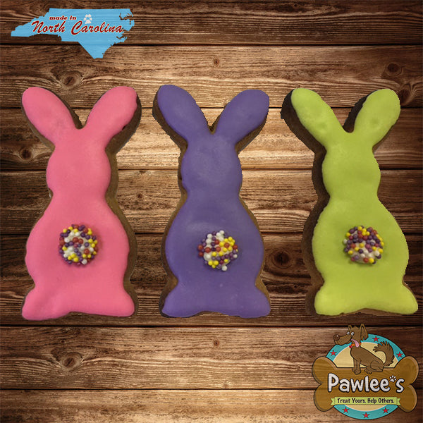 Bunny Tails Decorated Cookie 6/pk