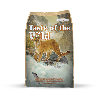 TASTE OF THE WILD CANYON RIVER FELINE FORMULA WITH TROUT & SMOKED SALMON DRY CAT FOOD