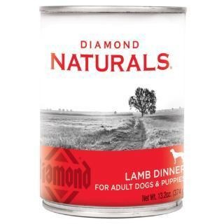 DIAMOND NATURALS LAMB DINNER CANNED DOG FOOD 13.2 OZ