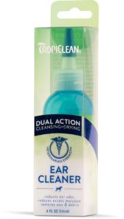 TROPICLEAN DUAL ACTION EAR CLEANER 4oz