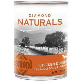 DIAMOND NATURALS CHICKEN DINNER CANNED DOG FOOD 13.2 OZ