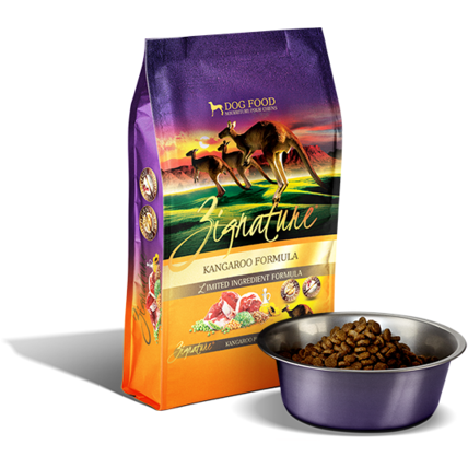 ZIGNATURE KANGAROO LIMIITED INGREDIENT FORMULA GRAIN-FREE DRY DOG FOOD
