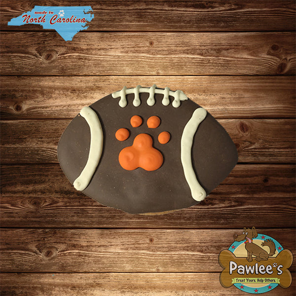 Football Decorated Cookie 6/pk