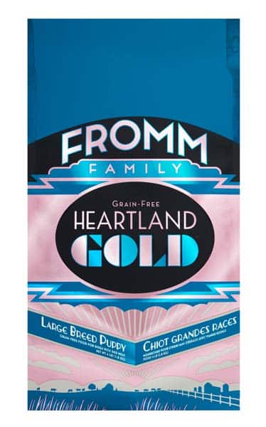 FROMM HEARTLAND GOLD GRAIN-FREE LARGE BREED PUPPY DRY DOG FOOD