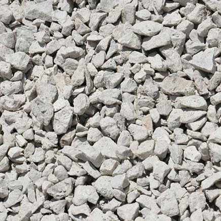 clear gravel