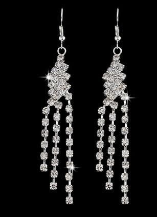 CRYSTAL BIZARRE DANGLE EARRINGS
