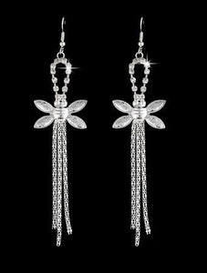 BLING BEE CRYSTAL DANGLE EARRING