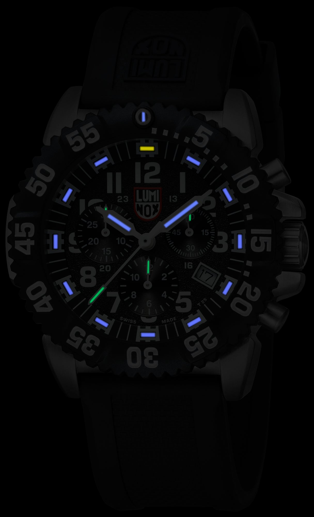 Navy SEAL Steel Colormark Chronograph XS.3181