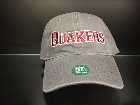 "Adult ""Quakers"" Hat - Grey"