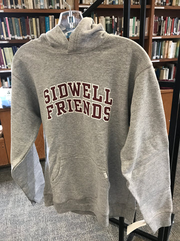 Toddler/Youth Hoodie 'Sidwell Friends'  - Grey