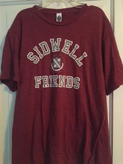 Short Sleeve Crest T-Shirt - Maroon