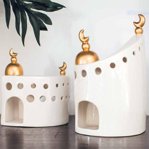 Pre-order Porcelain Mosque with Golden Dome